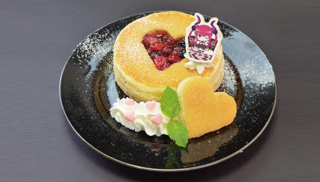 グッドスマイル×アニメイトカフェ エリザベートのアイドルパンケーキ