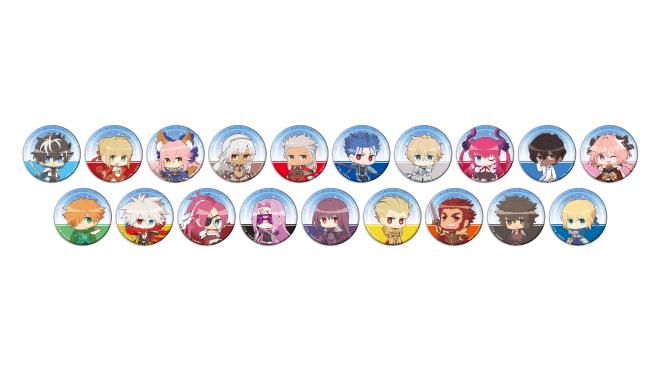 グッドスマイル×アニメイトカフェ Fate/EXTELLA LINK トレーディング缶バッジ