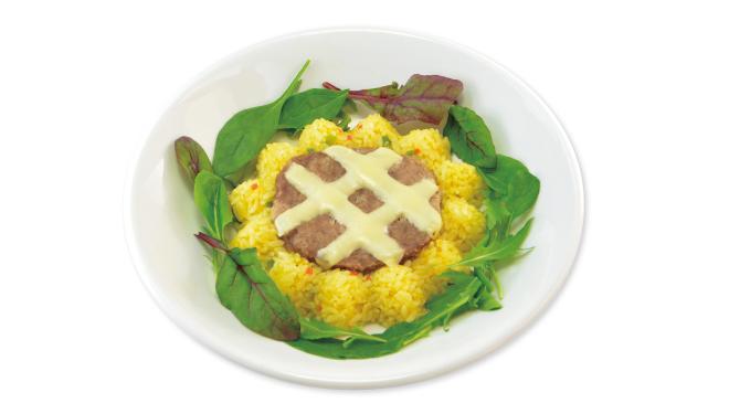 A3! アニメイトカフェコラボ 太陽のKIRAKIRA ひまわりチーズカレー