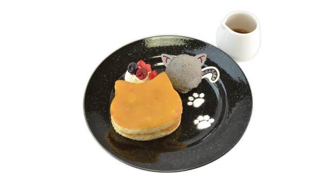 あんスタ アニメイトカフェコラボ MaMキャットの秘密のにゃんケーキ MaMキャット公爵とふしぎな猫