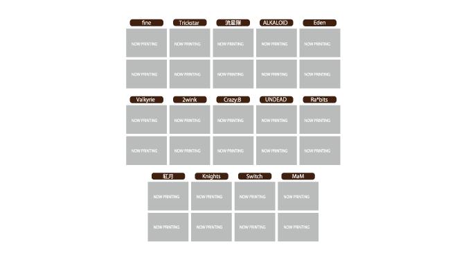 あんスタ アニメイトカフェコラボ トレーディング ポケットクリアファイル