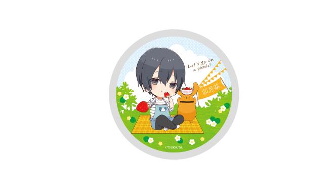 ツキノ芸能プロダクション アニメイトカフェコラボ 卯月茶