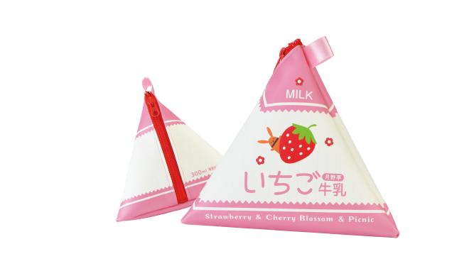ツキノ芸能プロダクション アニメイトカフェコラボ いちご牛乳ポーチ